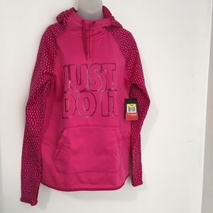 Nike | New hooded sweatshirt pullover small womens
